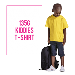 135g Kiddies T Shirt