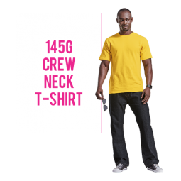145g Barron Crew Neck T Shirt