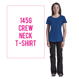 145g Barron Ladies Crew Neck T Shirt
