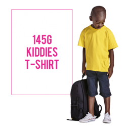 145g Kiddies Crew Neck T-Shirt