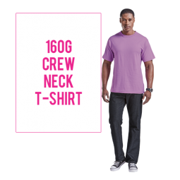 160g Barron Crew Neck T Shirt