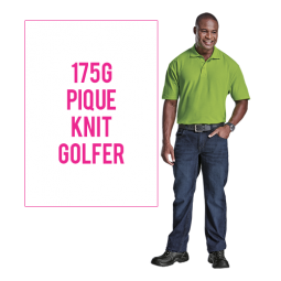 175g Barron Pique Knit Golfer