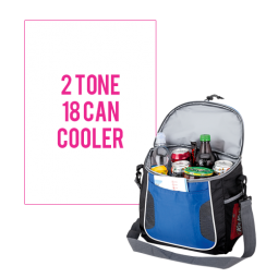 18 Can Cooler with Waterproof Pocket
