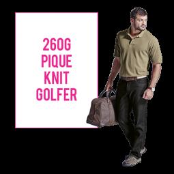 260g Barron Pique Knit Golfer