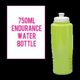 750ml Endurance Water bottle