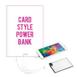 Credit Care Style Power Bank