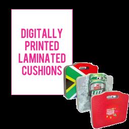 Digitally Printed Laminated Cushion