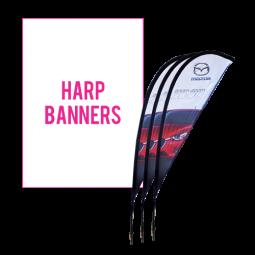 Harp Banners