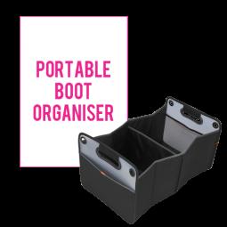 Portable Boot Organiser