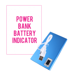 Power Bank With Battery Indicator