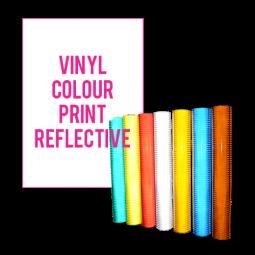 Vinyl Colour Print - reflective - 1m2